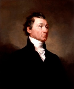 James Monroe. Fifth President of the United States. The creator of the Monroe Doctrine, banning European involvement in the Western Hemisphere, out of respect for American sovereignty.