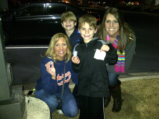A super fun family activity, I love to take my nieces and nephews on a geocaching adventure! We found this one in my hometown of Decatur, Alabama.