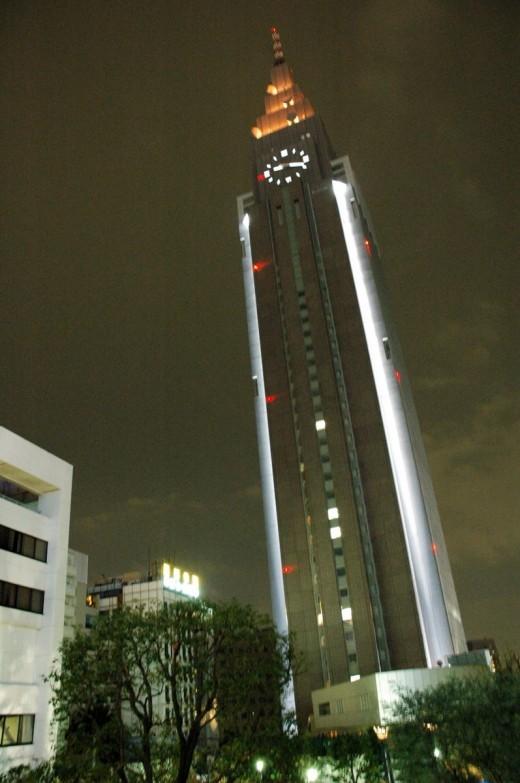 NTT Docmo Tower Shinjuku Tokyo Japan