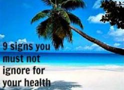 9 Health Symptoms We Should Never Ignore