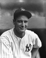 Lou Gehrig New York