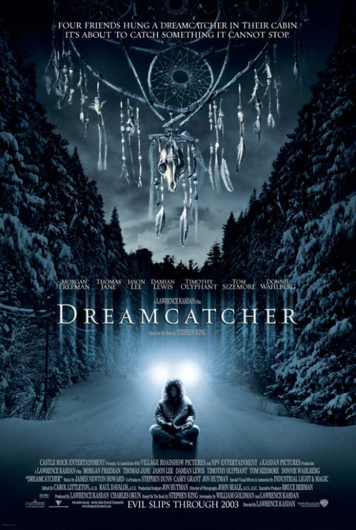The film poster for Dreamcatcher