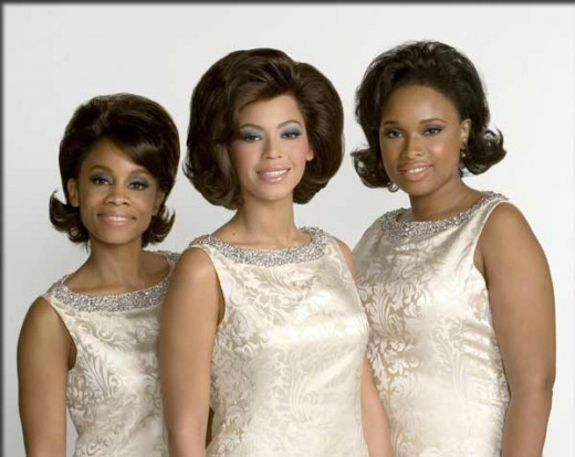 Deena Jones & the Dreams : Lorrell (Anika Noni Rose), Deena (Beyonce Knowles) and Effie (Jennifer Hudson)