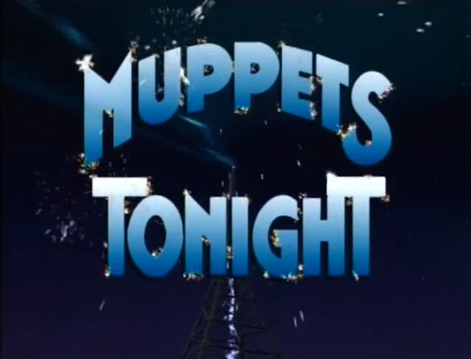 The new logo for Muppets Tonight. Very sparkly.