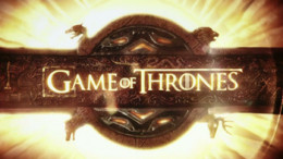 This is a screen shot of the title card used in the HBO Series.