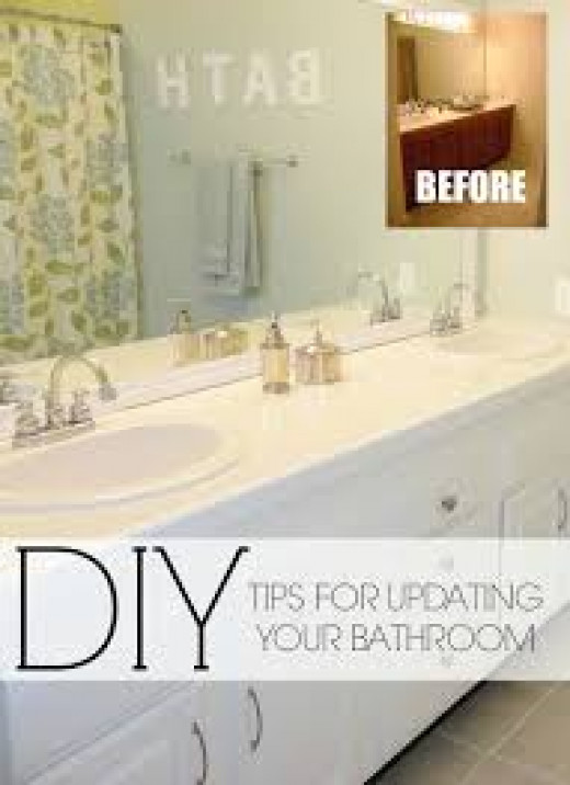 Five Easy Do It Yourself Steps How To Remodel A Bathroom Within A Budget Hubpages
