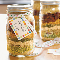 Gifts in a Jar - Soup Mixes