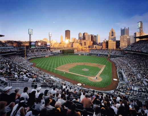 PNC PARK—HOME OF THE PITTSBURG PIRATES
