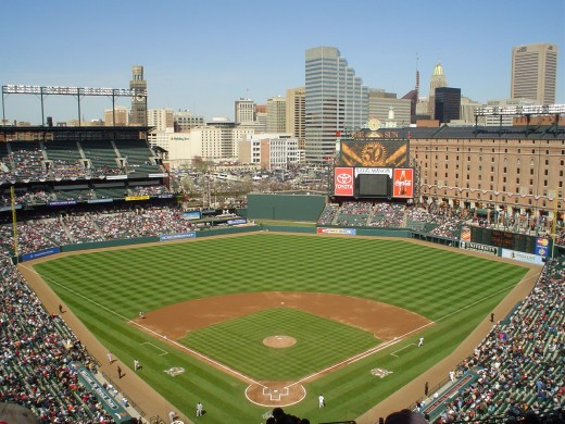 CAMDEN YARDS: HOME OF THE BALTIMORE ORIOLES
