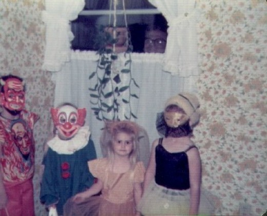 Remember dressing up for trick or treating?