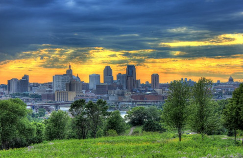 More of St. Paul - Minneapolis metro area.