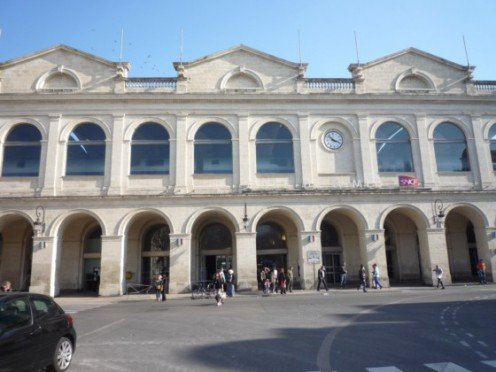 Nîmes railroad station