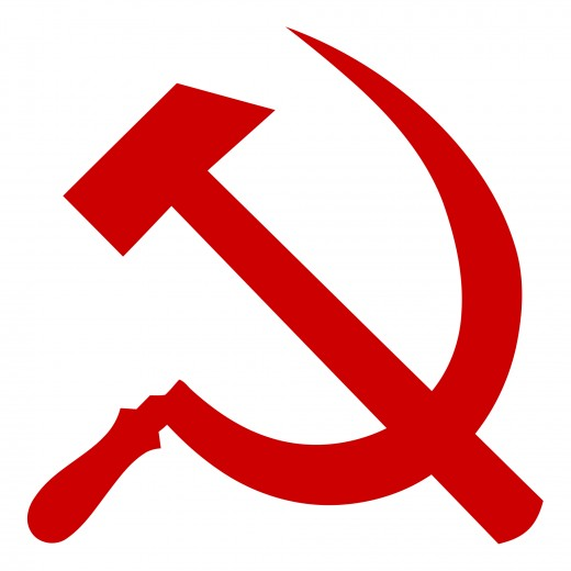 The hammer and sickle in the Communist symbol represents the unity of the workers and the farmers.