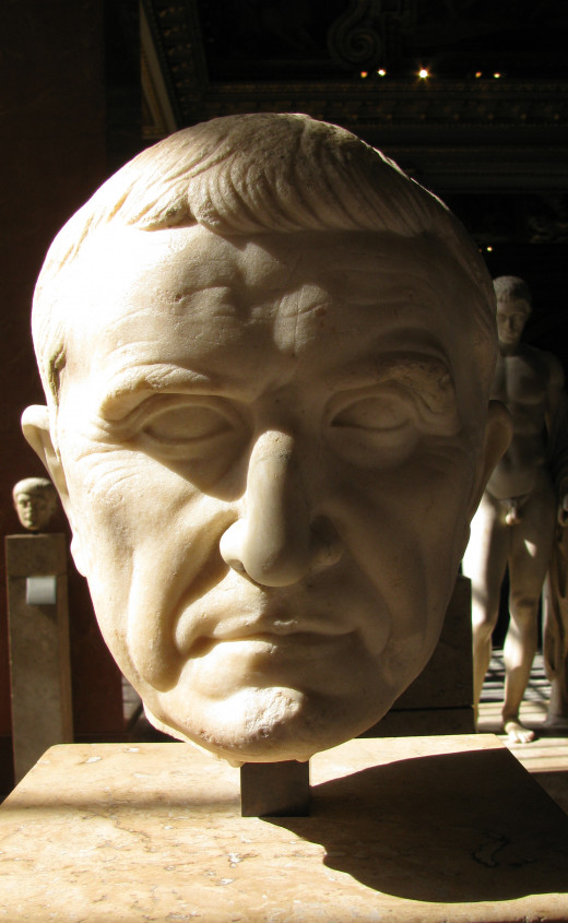 Marcus Licinius Crassus, the richest man in Rome.