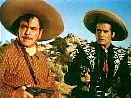 Pancho, left, and Cisco Kid.
