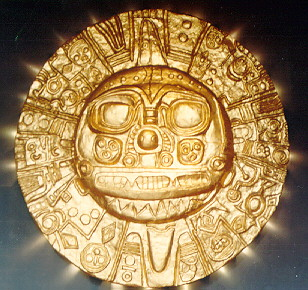 The INCA  gold Mask