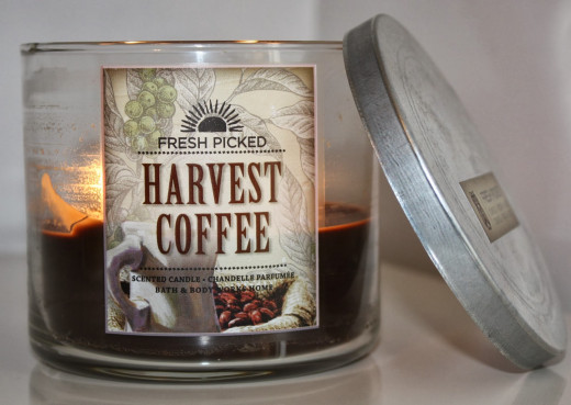 Bath and Body Works coffee candle