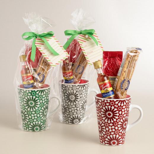 Mug gift baskets