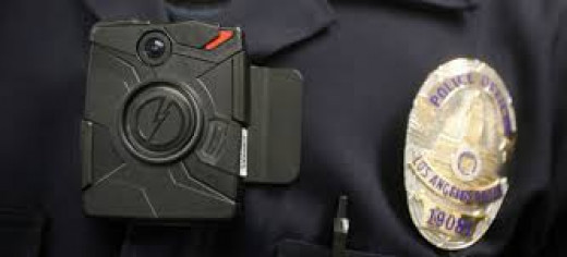 Police body cameras create privacy concerns but also help to hold police accountable for their actions.