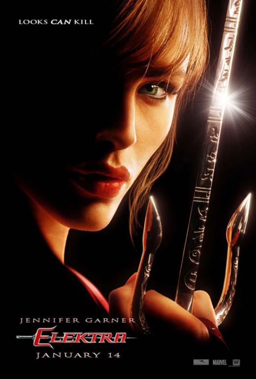 "Promotional poster for ""Elektra"""