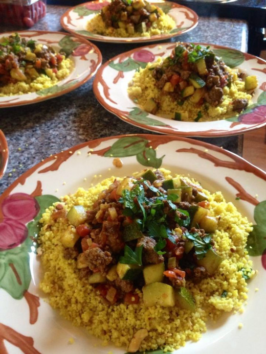 North African Beef Tagine with Couscous