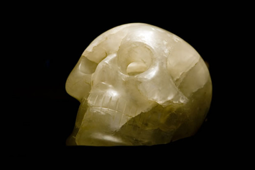 CRYSTAL skull-the lost TELEPATHIC Code?
