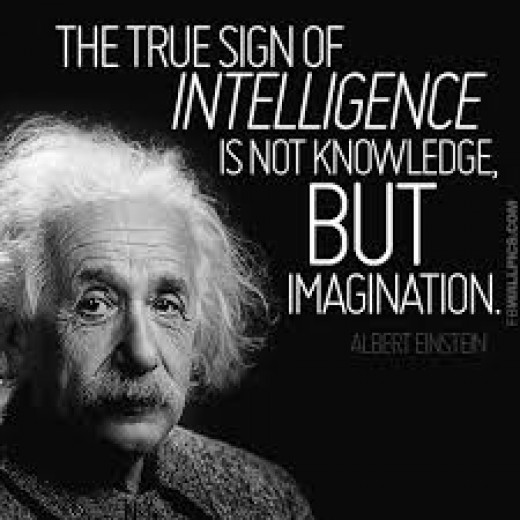 The Power of the Imagination according to Albert Einstein