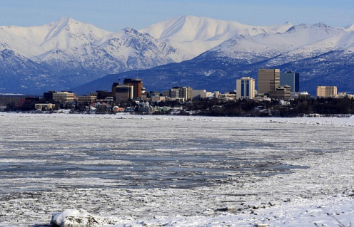 Anchorage, Alaska could have come under Spanish rule, but the explorers left. Some of the Russians stayed.