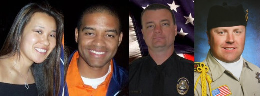 These are the people Christopher Dorner killed in his rampage against police.