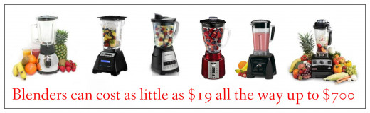 Even inexpensive blenders can make smoothies. All you need to do is cut the fruit and vegetables into smaller pieces.