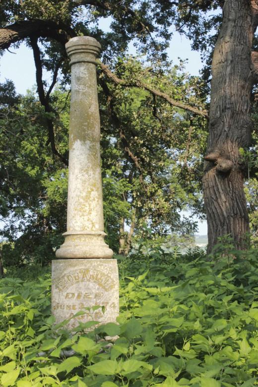 Gravestone of E. O'Banion, Valley View Cemetery