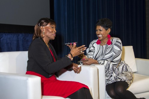 Freda interviews the Matriach; Mrs. Robbie Bronner of the Bronner Brothers