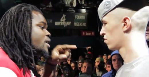 Arsonal (Left) against Shotty Hoorah (Right).