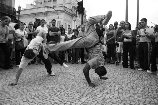 Brazilian Capoeira.