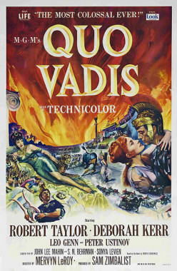 Quo Vadis: A Great Epic Film on Early Christianity