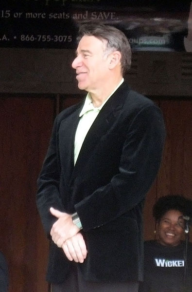 Schwartz receives a star on the Hollywood Walk of Fame.