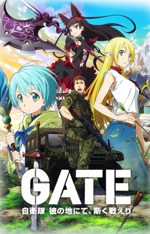 Gate: Jieitai Kanochi nite, Kaku Tatakaeri.