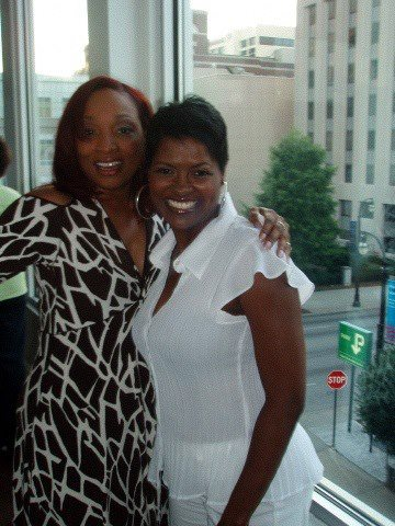 Freda interviewed radio voice-over personality, Porsche Foxx.