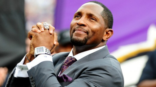 Freda has had some great guests on the show such as former NFL player, Ray Lewis...