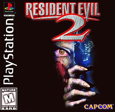 Playstation 2 box art for Resident Evil 2