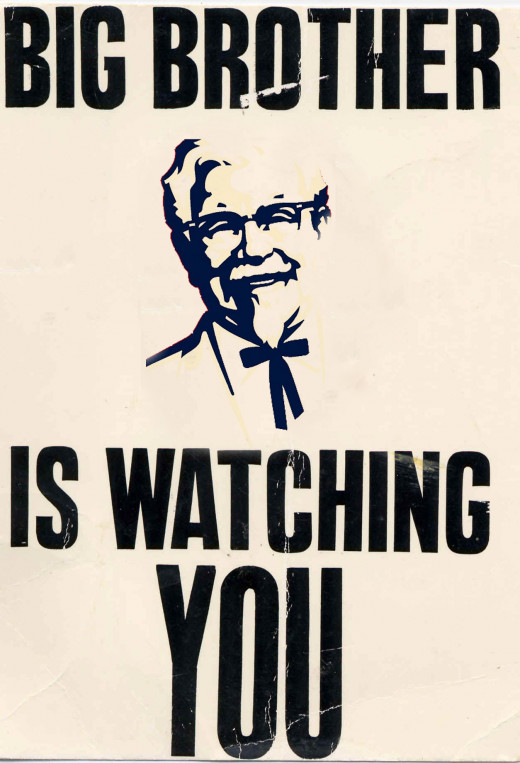 Big Brother is persuading you.