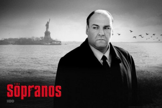 The Sopranos with James Gandolfini