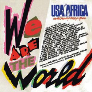 """We are the World"" alternate album cover"