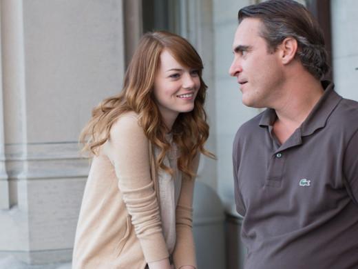 Emma Stone & Joaquin Phoenix in Irrational Man