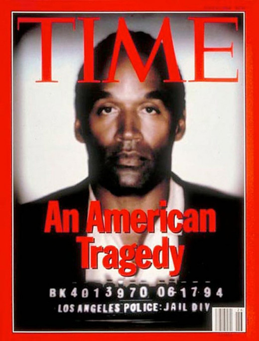 Time Magazine Cover at the time
