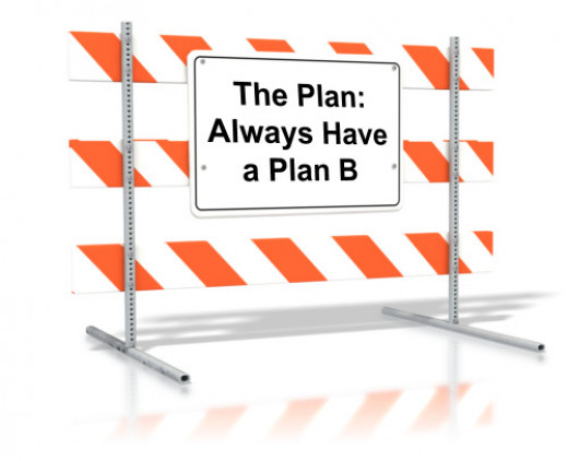 Always Have a Plan B. What Is Your Plan B?