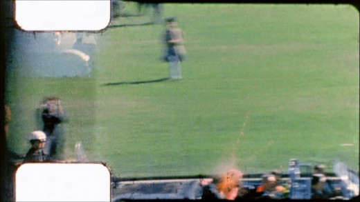 The famous frame 313 moment JFK is shot