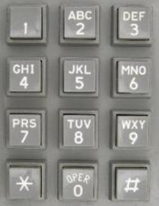All callers dial the same main number.