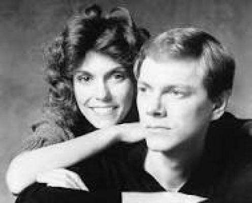 Karen and Richard Carpenter.