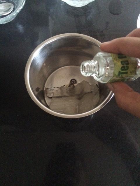 Add 5-6 drops of Tea tree oil